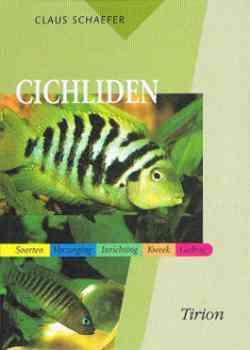Aquariumboek Cichliden - Tirion Natuur