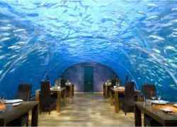 Overnachten in onderwater suite